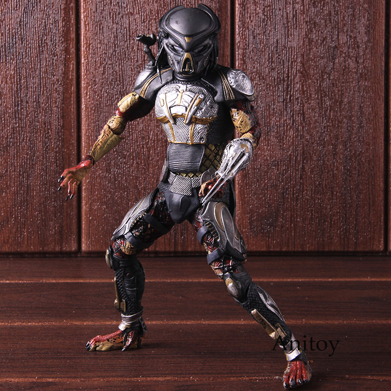 2018 The Fugitive Alien VS Predator Ultimate Action Figure NECA PVC Collectible Model Toy