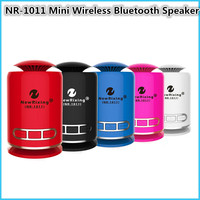 NR-1011ミニワイヤレスbluetoothスピーカーステレオスーパー重低音protableの充電式耐震スピーカー用iphoneサムスン新し
