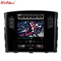 KiriNavi вертикальный экран Тесла стиль Android 7,1 10,4 автомобиль радио для Mitsubishi Pajero Мультимедиа DVD gps Поддержка Rockford системы