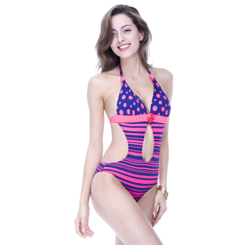 Foclassy бір бөлімі Swimsuit 2017 Әйелдер жүзу - Спорттық киім мен керек-жарақтар - фото 3
