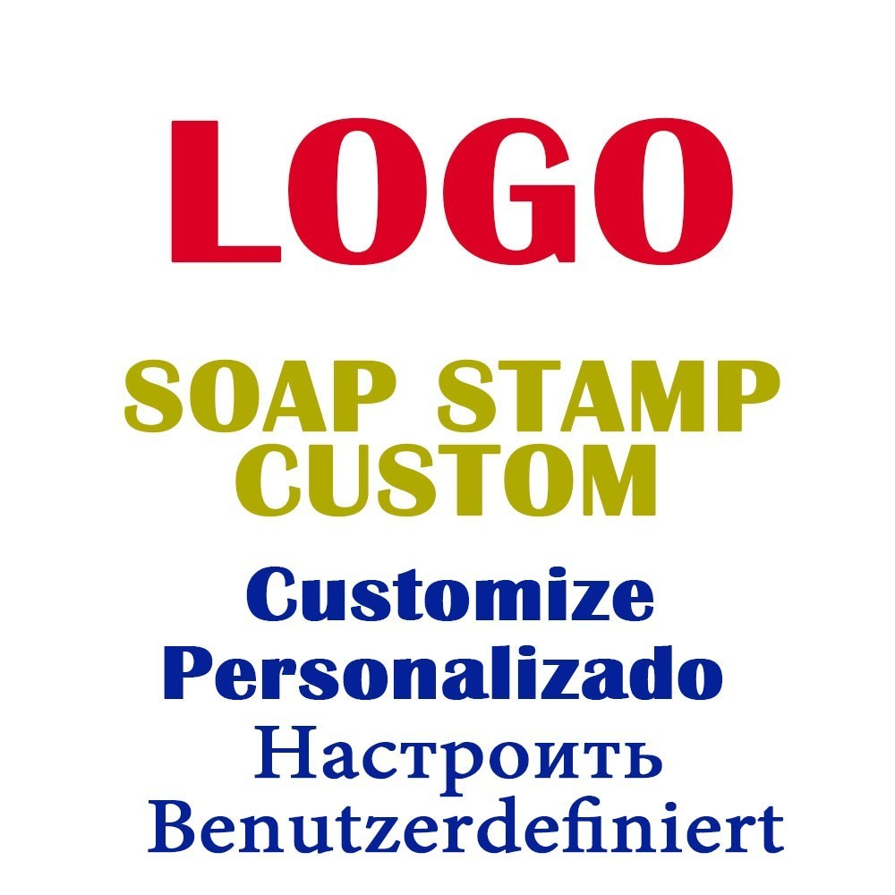 Soap Stamp Custom Diy Your Logo Or Design To Be A Stamp For Soap Making Resin Seal Chopter Customize Personalizado