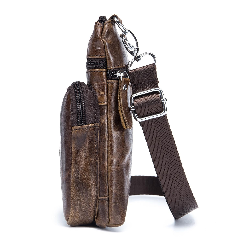 DCOS-BULLCAPTAIN homens famosa marca casual crossbody sacos