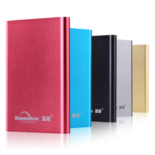 Blueendless экстерно упаковке дискотека розничной hdd устройства внешний hd диск жесткий