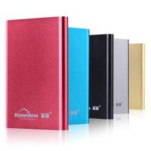 Blueendless USB 3.0 External Hard Drive de Disco 500 GB Dispositivos de Almacenamiento en Disco Externo HDD Disco HD Con el empaquetado al por menor