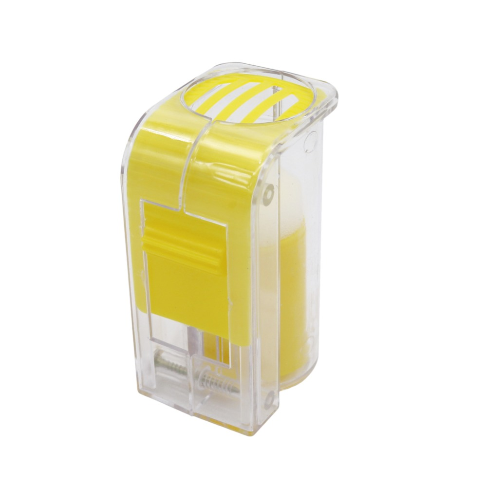 1Pcs Bee Queen Marking Catcher Plastic One Handed Marker Bottle Plunger Plush Beekeeper Tool Garden Beekeeper