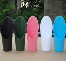 16.5*4.5CM 플라스틱 양동이 삽 정원 도구, 식물, 화분 및 재배자 급수 키트 5 개/몫 A485