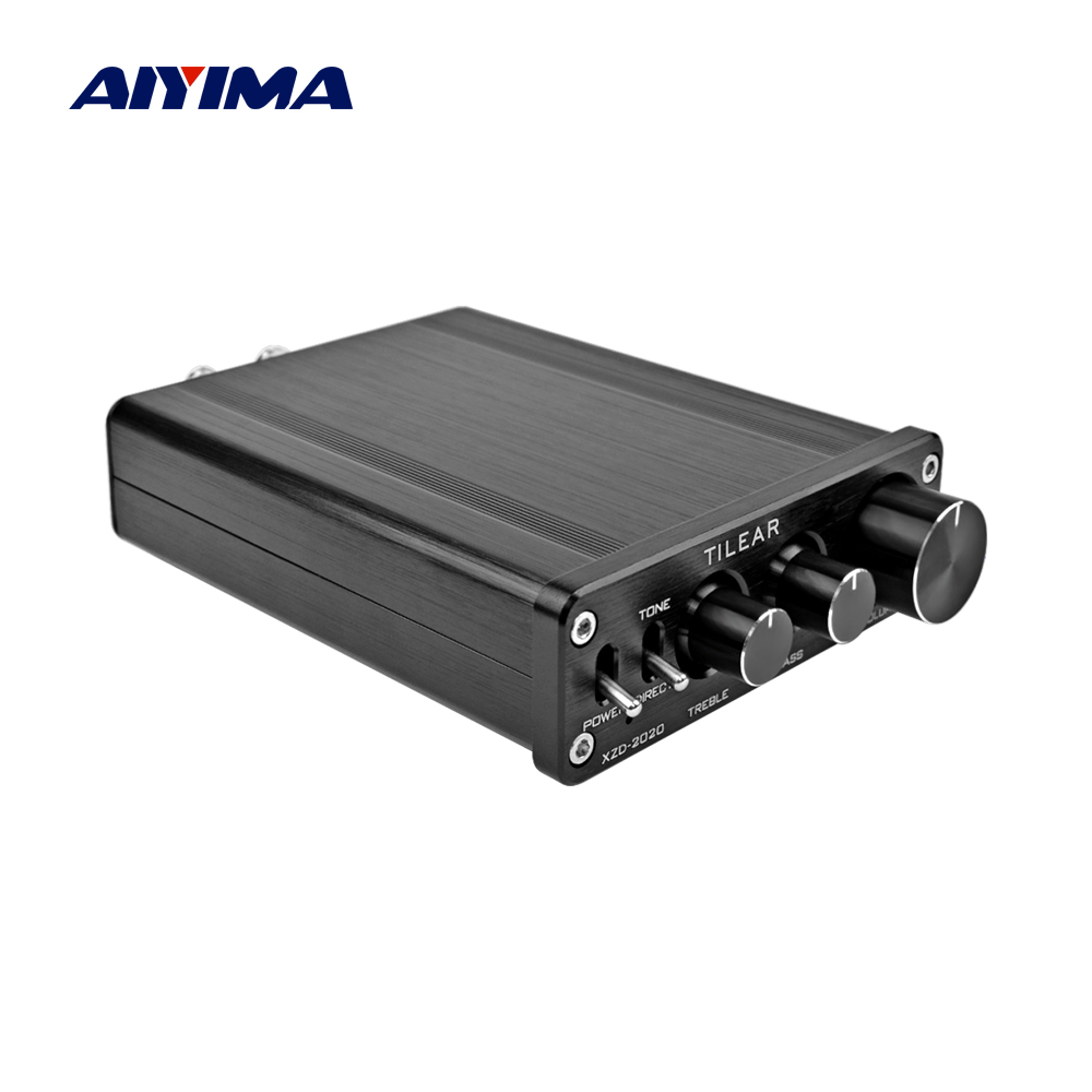 AIYIMA 2 0 Mini Power Amplifiers Professional TA2020 20Wx2 Class T Stereo Sound Amplifier Audio Board