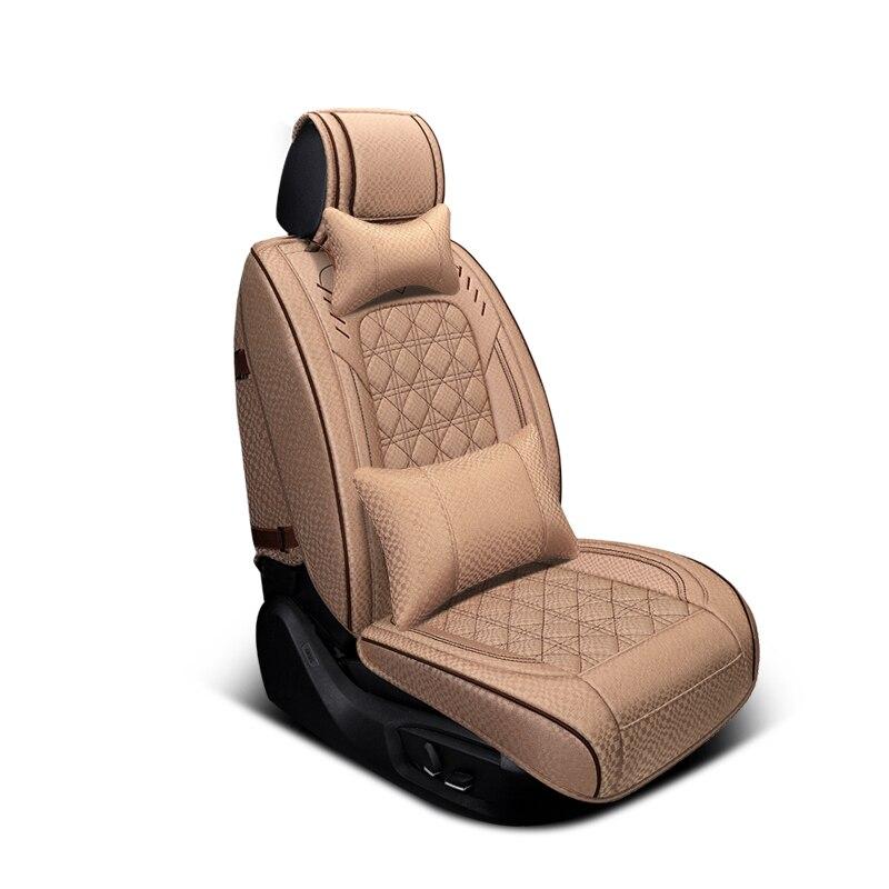 Решетчатая крышка автомобильного сиденья (передняя + задняя) протектор автомобильного сиденья, Новая универсальная подушка для сиденья, Но