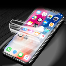 Soft Silicone TPU Screen Protector Full Coverage Protective Film Front For apple