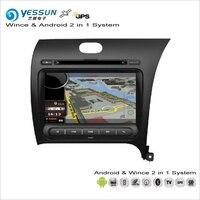 YESSUN For KIA Cerato / Forte K3 2012~2016 RHD Car Android Multimedia Radio CD DVD Navigation Navi Audio Stereo Video GPS Player