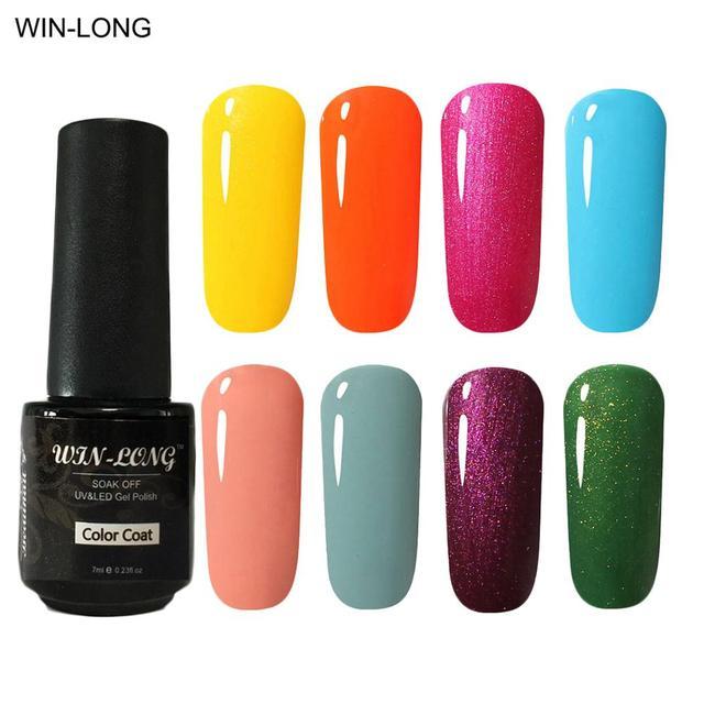 Win Long 2018 New Nail Art Design Nude Gel Polish 7ml 110 Colors
