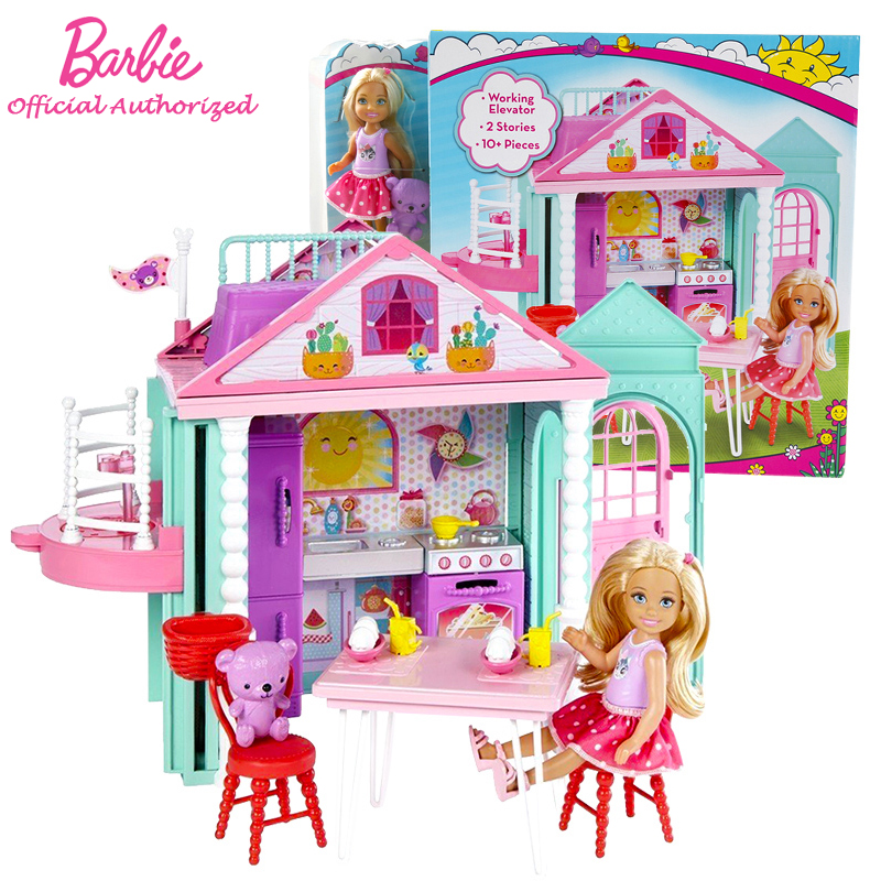 el ms nuevo barbie mueca prpura suave casa princess girl toy boneca barbie set modo