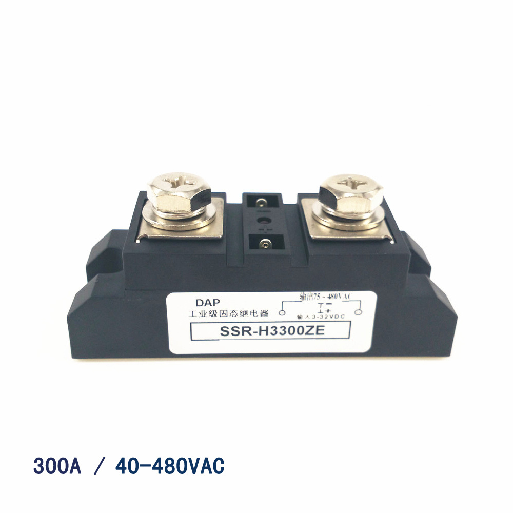 Three-phase solid state relay 150a 480vac zero-crossing normally open non-contact switch SSR-3D48150A normally open single phase solid state relay ssr mgr 1 d48120 120a control dc ac 24 480v