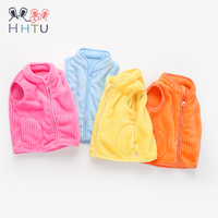 HHTU 2018 Children S Vest Sleeveless Waistcoats Boys Girls Coat Kids Cute Jacket Vest Outerwear Thickening
