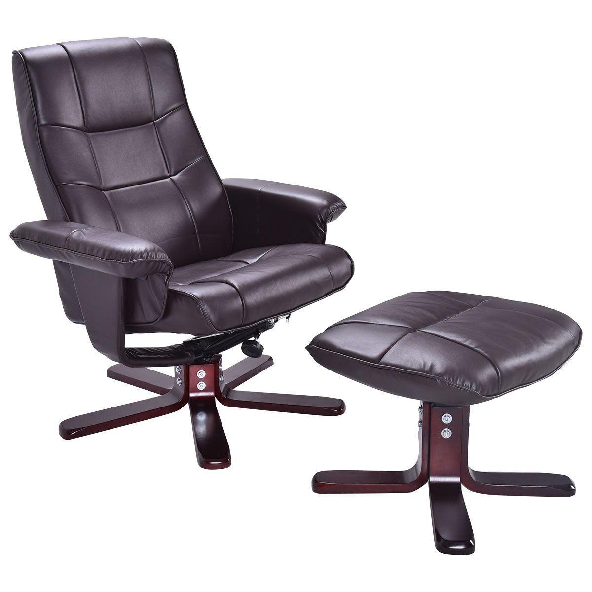 costway ergonomic computer gaming chair armchair executive c
