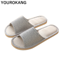 Home Slippers Spring Autumn Flip Flops Flax Slippers Indoor Bedroom Women House Shoes Ladies Footwear Unisex Couple Beach Shoes flax funny adult slippers women house shoes indoor pantufas cute bedroom slippers home lovers chaussons zapatillas casa mujer
