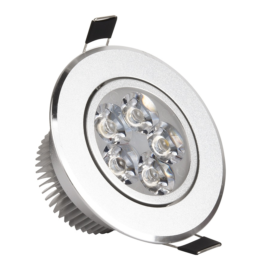 10pc LED Downlight Spot Lights Lamp 110V 220V Dimmable Recessed Ceiling 3W 4W 5W 7W Easy Installation