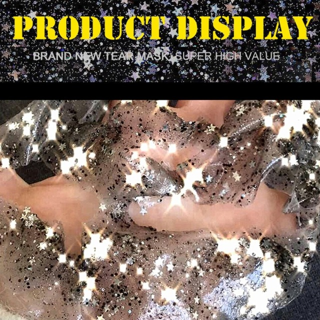 STAR MASK Glitter Gold Peel off Black Face Mask From Black Dots Blackhead Remover Korean Facial Masks Face Skin Care 5