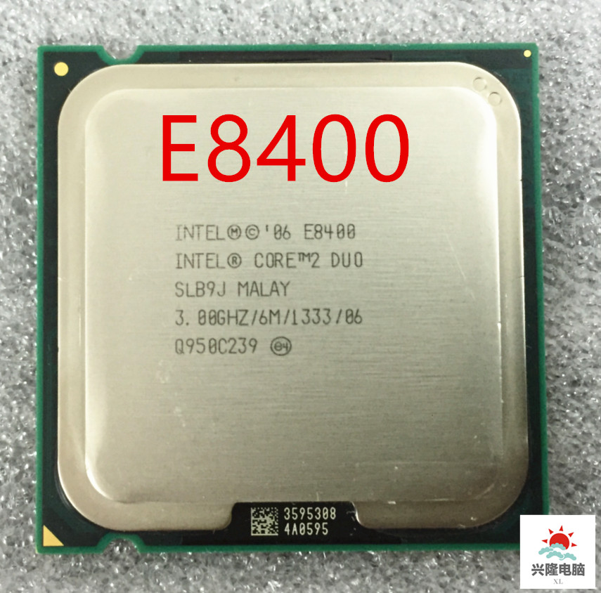 Cpu Core 2 Duo E8400 e8400 Intel  Processor  Dual-Core  3.0Ghz  6M  1333MHz   Socket 775