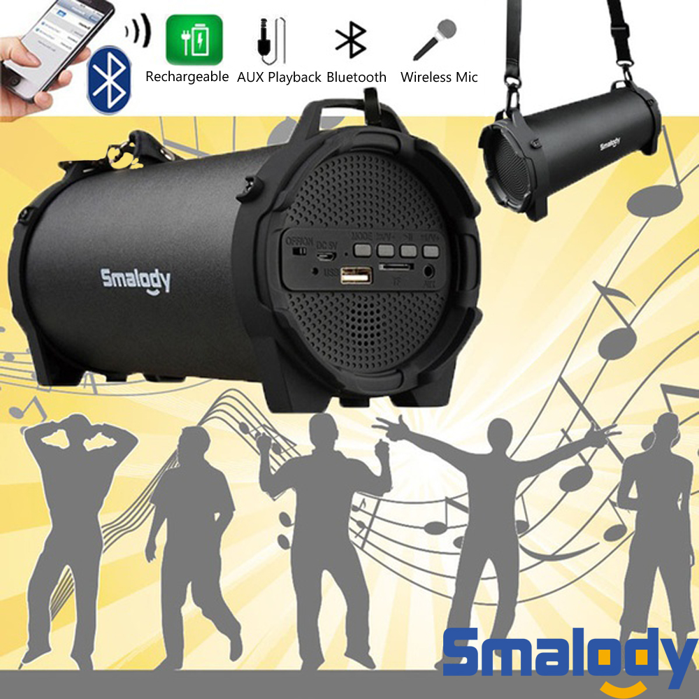 Image 5 - Portable Speaker Column Bluetooth Soundbar Subwoofer Loudspeaker FM Radio System Music sound box computer BoomBox caixa de som-in Portable Speakers from Consumer Electronics
