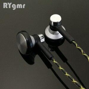 Image 2 - RY04 オリジナル in 耳イヤホン金属 15 ミリメートル音楽音質 HIFI イヤホン (IE800 スタイルケーブル) 3.5 ミリメートルステレオインナーイヤー型ヘッドフォン