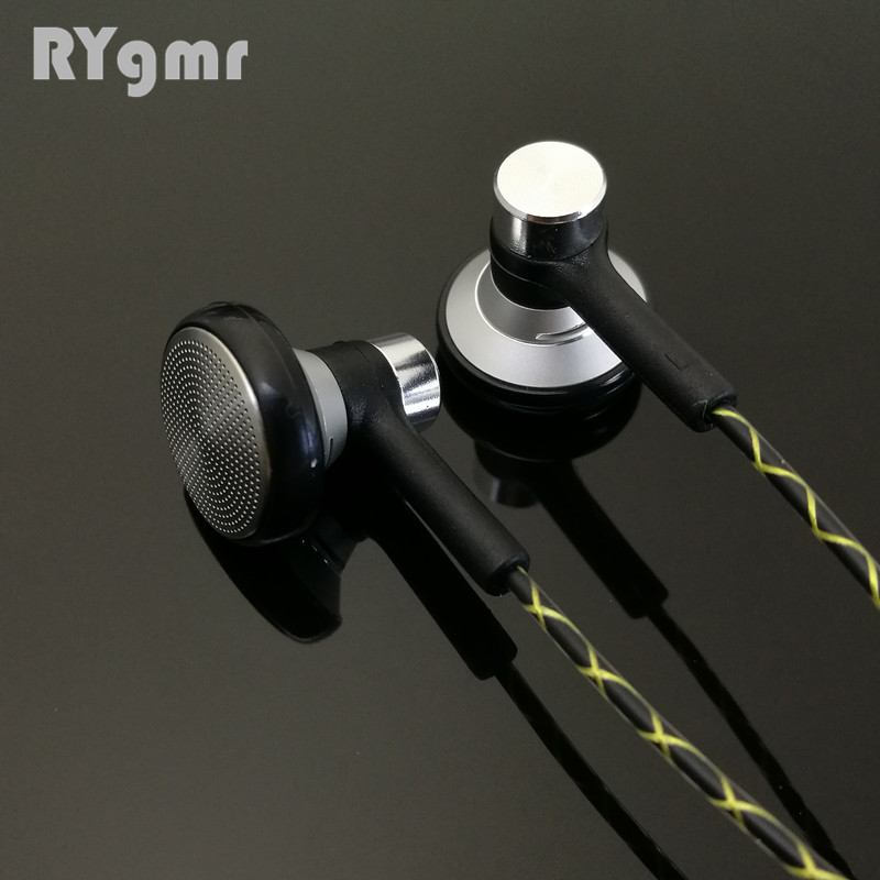RY04 original in-ear Earphone metal 15mm music quality sound