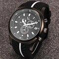 FANALA 2017 мужские Часы Шин Pattern Мужчины Дата Часы Мужчины Повседневная Кварцевые Часы Силиконовые Наручные Спортивные Часы Военные $ k