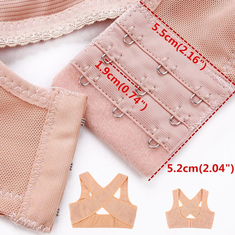 Posture Corrector Women Back Support Belt Orthotic Face Lift Tool 16