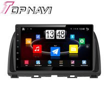 """10.1"""" Quad Core Android 4.4 Car PC Stereo GPS For Mazda Atenza 2014 With Multimedia Radio Wifi BT Without DVD Free Shipping"""