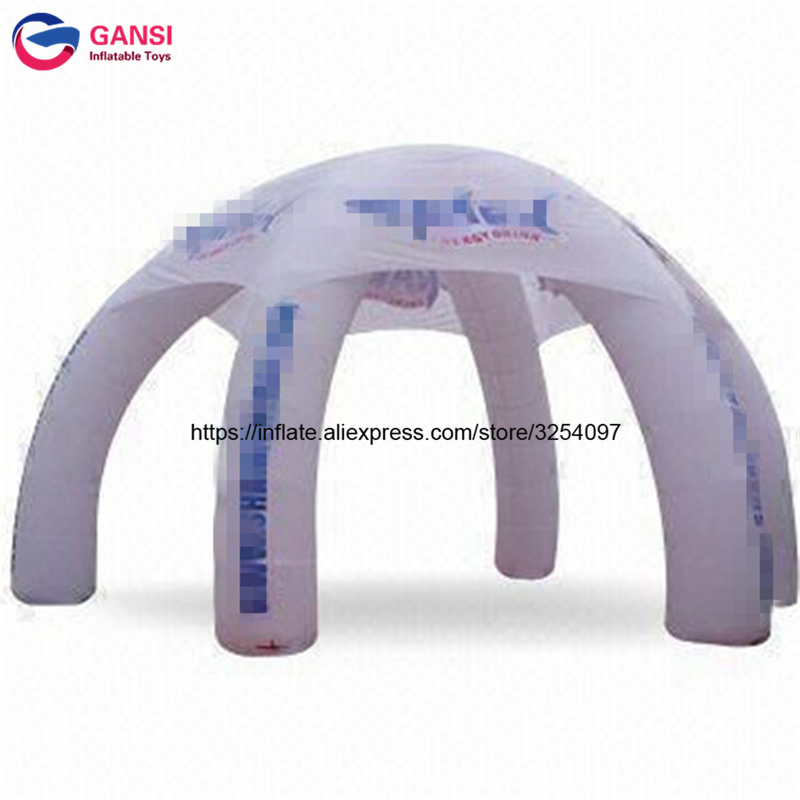 Oxford cloth waterproof inflatable spider tent for event high quality promotion inflatable advertising tent dome tents for sale