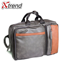 New 2018 Quality Waterproof Pu Leather Backpack Men 14 inch Laptop Bag Sac A Dos Men Backpacks Swiss Fashion Travel Backpack