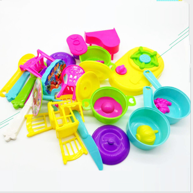 Children Baby DIY Pretend Play Kitchen Toys 28pcs/Set Learning Educational Classical Mini tablewar cooking & Children Baby DIY Pretend Play Kitchen Toys 28pcs/Set Learning ...