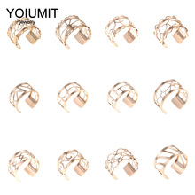 Cremo New Trendy Resizable finger Rings Stainless Steel Ring Style Rose Gold Leather Anniversary Jewelry Gift for Her