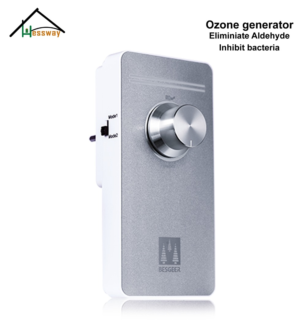 220V EU plug medical ozone generator adjust Cleaner Sterilization Ozone Generator 55mg with Two modes