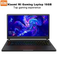 Xiaomi mi Ga mi нг ноутбук 15,6 ''windows 10 Intel Core I7 8750H 16 ГБ оперативная память ГБ 256 SSD 1 ТБ HDD гекса Core тетрадь обновленная версия