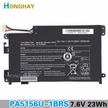 Honghay unique 7.6V 23Wh 3000mAh PA5156U-1BRS Laptop computer Battery For Toshiba PA5156U  W35DT  P000577240 PA5156 Pill PC