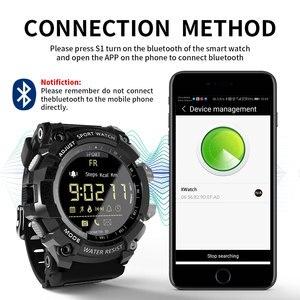 Image 5 - Lokmat Smart Horloge 2020 Bluetooth Digitale Mannen Klok Stappenteller Smartwatch Vrouwen Waterdichte IP68 Sport Voor Ios Android Telefoon