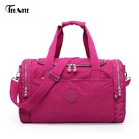 TEGAOTE Women Travel Bags 2017 Fashion Large Capacity Waterproof Luggage Duffle Bag Casual Totes Big Weekend