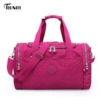 TEGAOTE Women Travel Bags 2017 Fashion Large Capacity Waterproof Luggage Duffle Bag Casual Totes Big Weekend Trip Tourist Bag