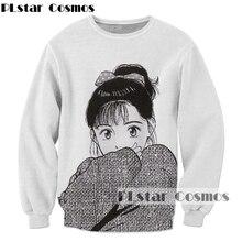 PLstar Cosmos Drop shipping 2017 Newest Harajuku Anime 3d Sweatshirt font b Men b font Women