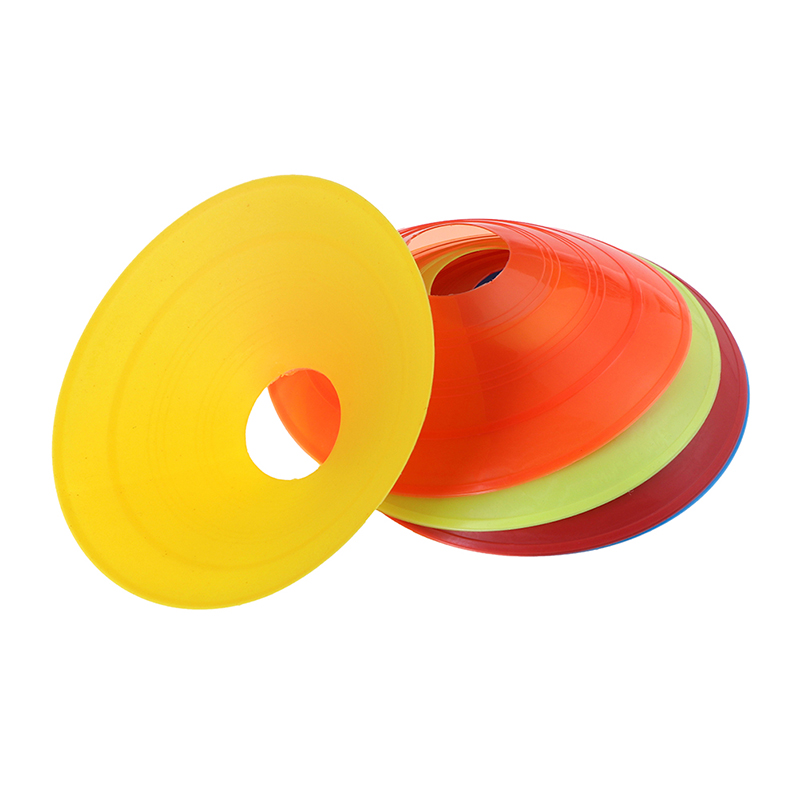 10pcs Cones Marker Discs Soccer Football Training Sports Entertainment Funny