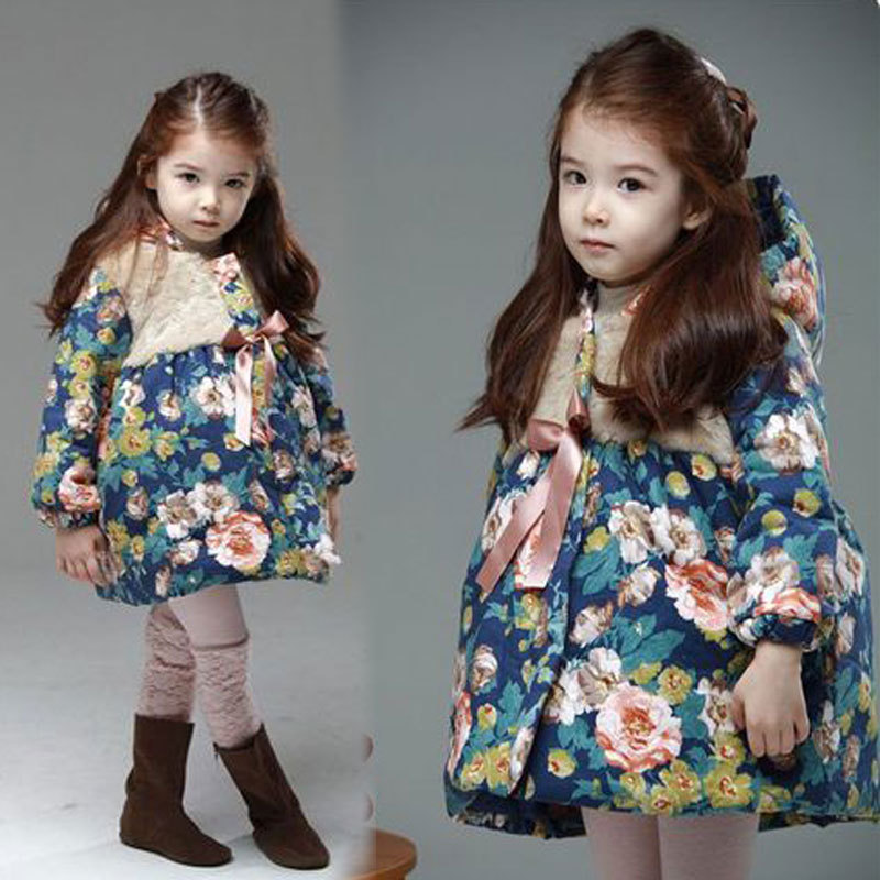 Anlencool Special Offer 2018 Newborn Baby Girl Winter Clothes New Coat Korean Girls Big Flower Children Hooded Free Shipping hui ren tang wild flower nigatake shiraia simplxs carefully selected big shiraia 500 grams shipping special offer