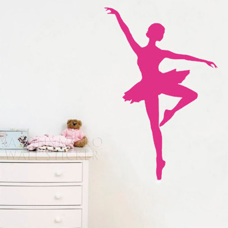 Ballet Ballerina Dancer Dancing Sports Wall Stickers