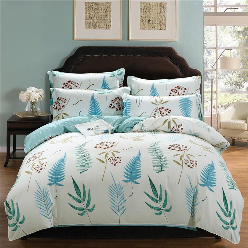 2018 New 18 Types Bedding sets 100% Cotton 4PCS Bed Set bed cover bedclothes bedsheet bedlinen VELVET Duvet Cover <font><b>Pillowcases</b></font> image