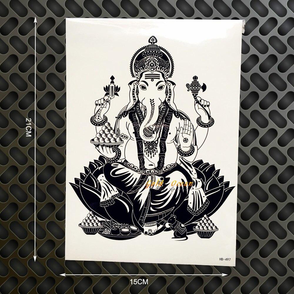 3d tatouage l phant bouddhiste galerie tatouage - Signification tatouage elephant ...