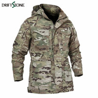 New Army Camouflage Jacket Men's Windbreaker Jacket Military Tactical Jacket Combat Uniform CP Color
