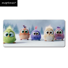 Cute Bird Large Size Gaming Mouse Pad Extended Speed Mousepad Computer Keyboard Desk Mouse Mat For Office Home Gamer 63 33 large soft felt cloth desktop mouse pad keyboard office laptop notebook pc table mat home office computer desk mousepad