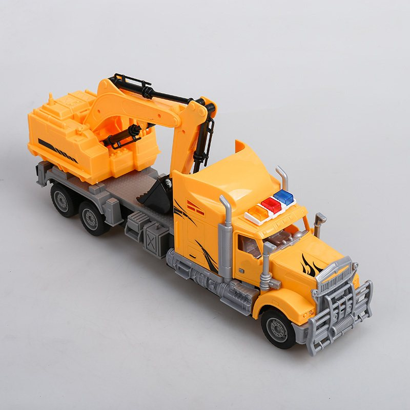 Electronic Car New Fashioned Toy Single Bucket Excavator Children Educational Toys Fun Adequate Quality Kids Popular With Boys