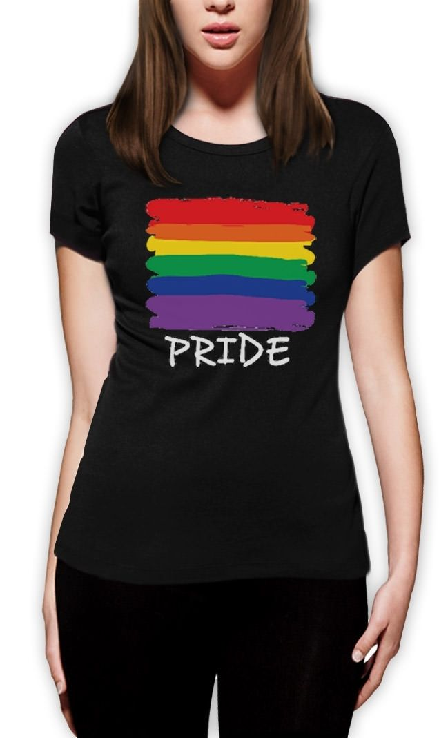 Love No Limits Gay Pride Rainbow Flag Graphic Rainbow  Long Sleeve T-Shirt Top