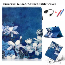 Tablet 7 inch Case Cover Universal New Cover Cartoon Case For Tablet 6.0/6.8/7.0 inch For Cute E-Books For Samsung For Huawei kefo universal cover for prestigio multipad grace 3118 pmt3118 3318 pmt3318 3g 8 inch tablet zipper nylon tablet covers case